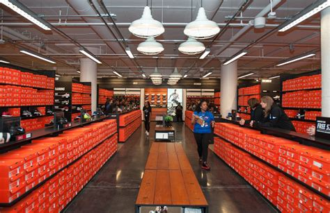 nike opens at the hecht warehouse district douglas