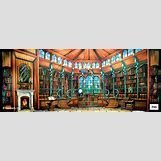 Beauty And The Beast Library Scene | 736 x 287 jpeg 78kB