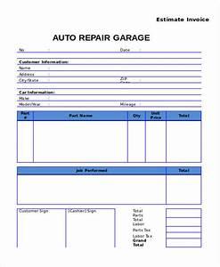 Auto repair invoice connecticut state auto repair invoice for Auto repair invoice template word