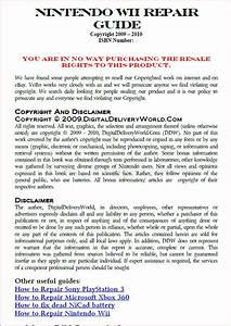 Nintendo Wii Error Code Fix Guide Diy Repair Service