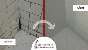 do you have mold and mildew in your shower see how a tile With how to clean grout between tiles in bathroom