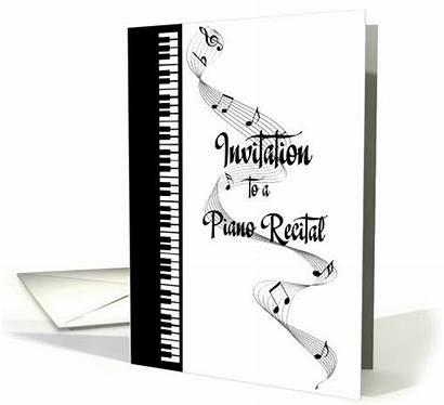 Piano Recital Card Invitation Greetingcarduniverse Greeting