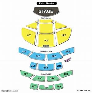 Pabst Theater Seating Chart