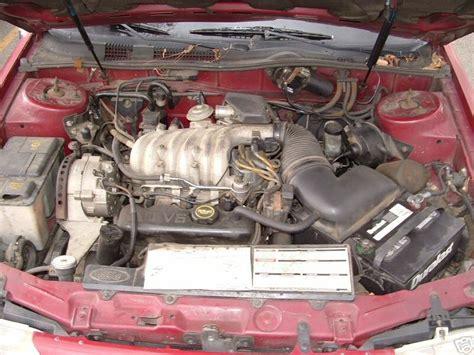 how petrol cars work 1989 ford taurus head up display engines taurus sable encyclopedia
