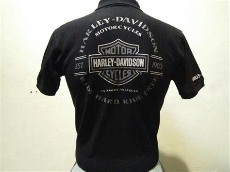 Kaos Harley 04 jual kaos polo harley davidson black di lapak