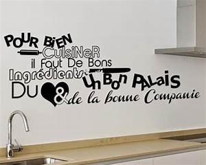 Stickers Muraux Cuisine : stikers pour cuisine stikers dcoratif pour vos cuisines ~ Premium-room.com Idées de Décoration