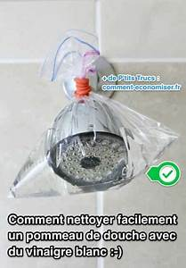Désherber Avec Du Vinaigre : facile et rapide comment nettoyer un pommeau de douche ~ Melissatoandfro.com Idées de Décoration