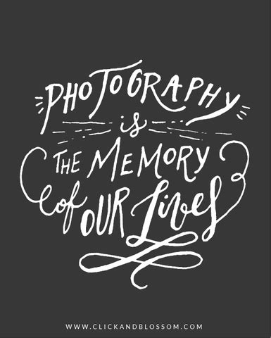 photography quote photography   memory   lives