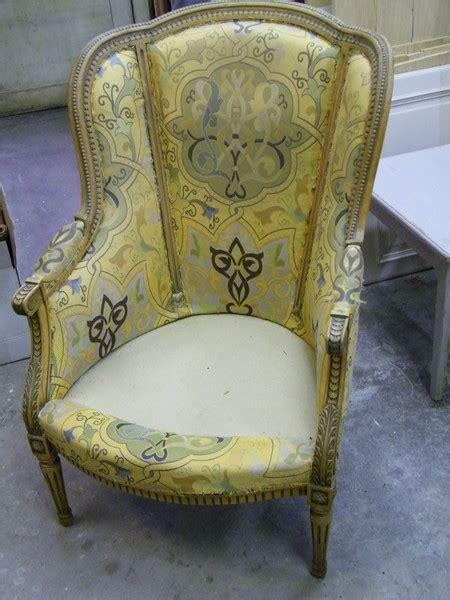 paire de fauteuils style louis xvi en h 234 tre 224 c 233 ruser atelier de l 233 b 233 niste c cognard eure
