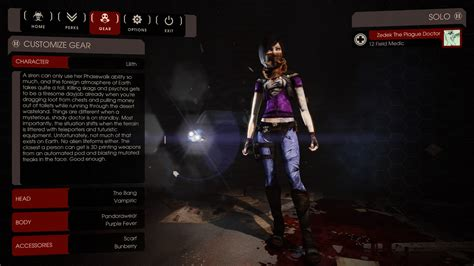 killing floor 2 all characters lilith killing floor 2 skin mods