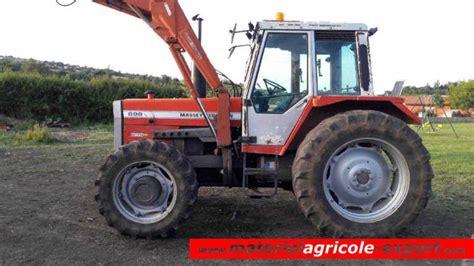 siege tracteur ancien vendu massey ferguson 698 chargeur tracteur