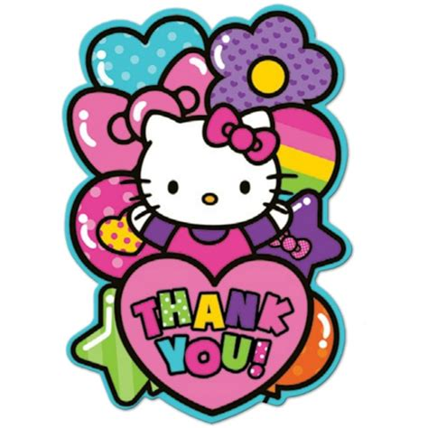 hello kitty thank you notes 8