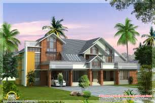modern home plans modern contemporary house design 3700 sq ft kerala