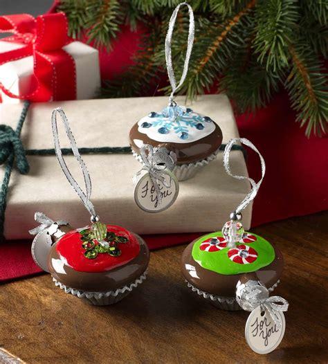 sorelle handcrafted christmas bulbs cupcake handmade ornaments diycandy