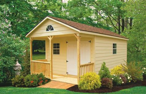 Shed With Porch by Porch Patio Quality Storage Buildings