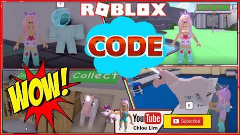 roblox vet simulator gameplay code   care
