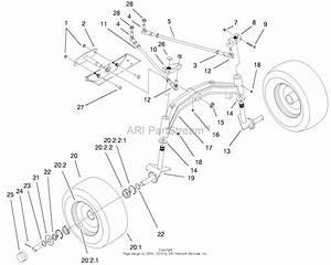 Toro 73471  518xi Garden Tractor  2000  Sn 200000001