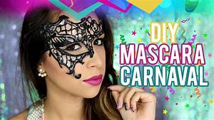 DIY: Máscara Rendada de Carnaval - YouTube