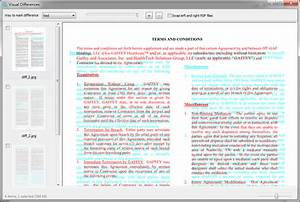 pdf compare software compare pdf files identify changes With pdf documents compare