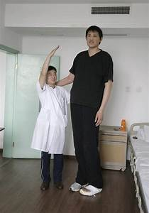 Zhao Liang The tallest man China
