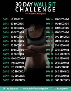 Plank Exercise Time Chart 30 Day Fitness Challenge Say Yes To Happy