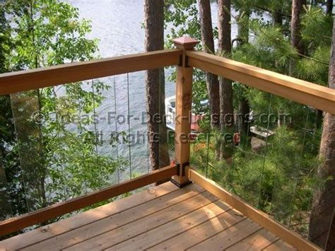 deck without railing 1000 ideas about glass railing system on pinterest glass railing railings and aluminum railings