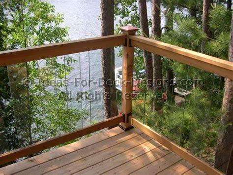 decks without railings design 1000 ideas about glass railing system on pinterest glass railing railings and aluminum railings