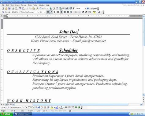 How Should A Resume Be Organized by Organize Resume