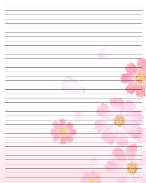 9 best images of free printable note paper printable writing paper free