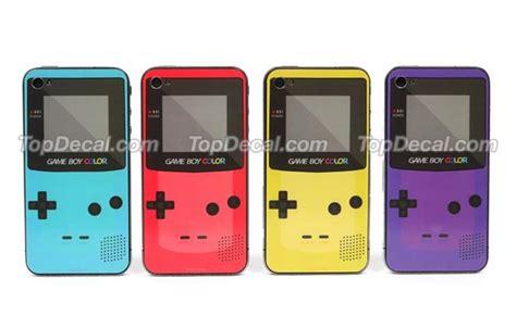 iphone 4 colors nintendo boy color iphone 4 decal gadgetsin