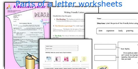 english teaching worksheets parts   letter