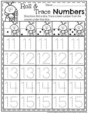 Numbers 1120 Games  Planning Playtime