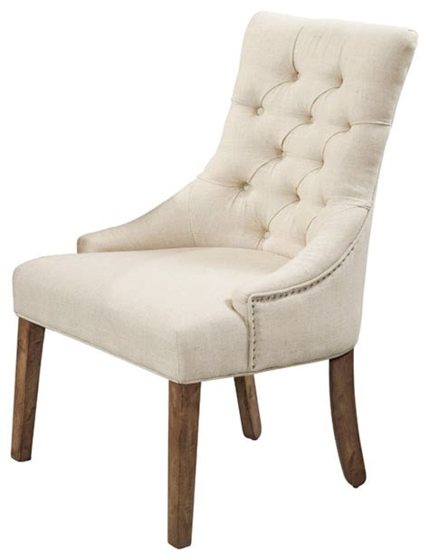 fortnum tufted parsons chairs set of 2 traditional