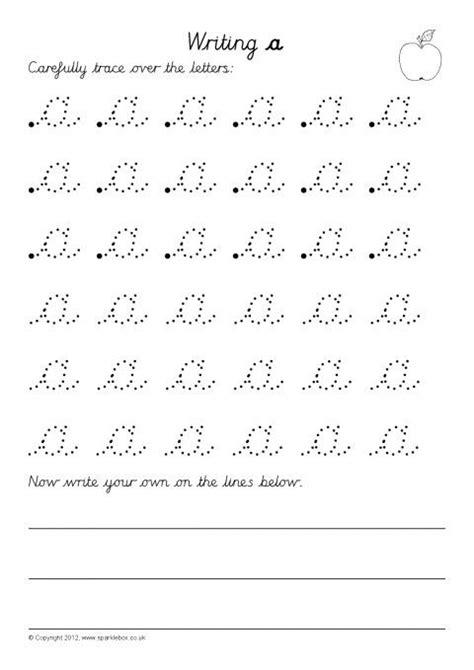 writing letters formation worksheets cursive sb