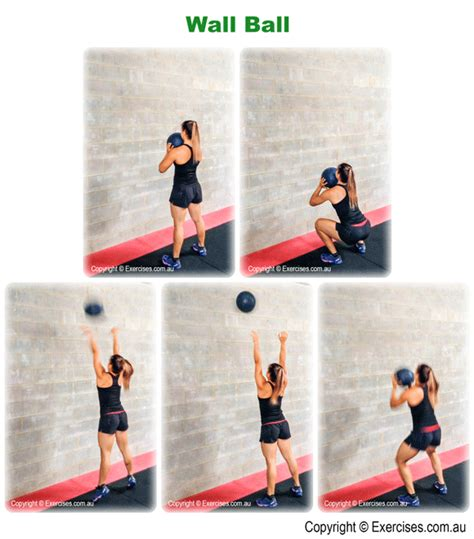 ball exercises thruster