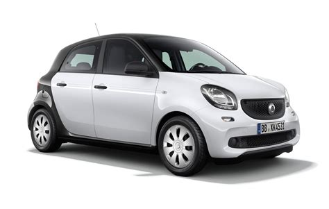 smart fortwo forfour pure editions announced  uk