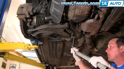 install replace worn ripped rh cv joint axle