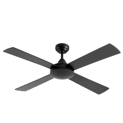 matte black ceiling fan arlec 122cm 4 blade matte black ceiling fan bunnings