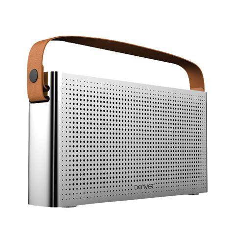 bluetooth lautsprecher stereo bluetooth lautsprecher im radio design mit ledergriff audio technik audio hifi stereoanlagen