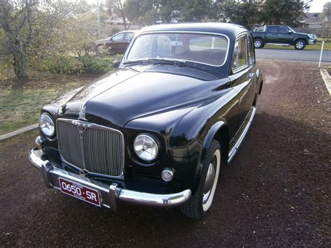 P4 For Sale by Rover 75 P4 1952 For Sale Now Sold Rover P4 Drivers