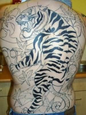 female tiger tattoos