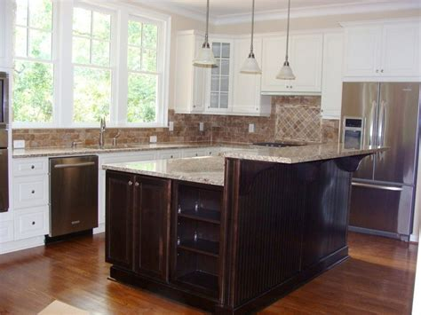 Mix And Match Cabinets  Great For Entertaining. Travertine Tile For Backsplash In Kitchen. Island Kitchen Design Ideas. Under Counter Kitchen Lighting. How To Put Down Tile Floor In Kitchen. Overhead Lighting Kitchen. Self Adhesive Kitchen Backsplash Tiles. Rustic Kitchen Island Light Fixtures. Kitchen Appliances Banner