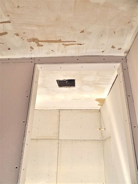 Scraping Popcorn Ceiling Diy by How To Skim Coat Your Ceiling After Scraping The