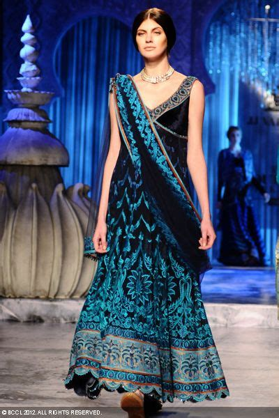 delhi couture week  jj valaya collection zone style