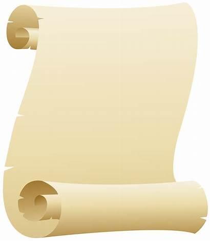 Scroll Clipart Clip Scrolls Yopriceville Transparent Frame