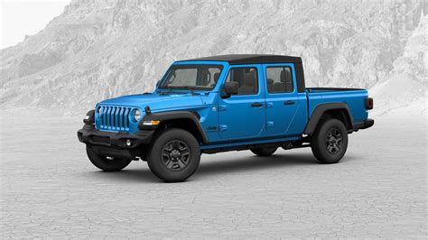 2020 jeep truck 2020 jeep gladiator truck configurator is live see