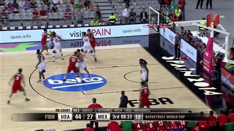 mundial de basquetbol  mexico  estados unidos