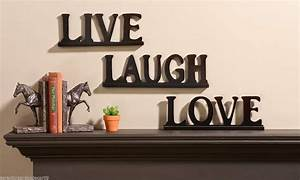 live laugh love wall stickers live laugh love wall decor With kitchen cabinets lowes with live love laugh sign wall art