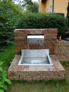 Pool Für Den Garten : wasserfallbrunnen f r den garten den pool den teich individuell gefertigte r ckw nde und ~ Watch28wear.com Haus und Dekorationen