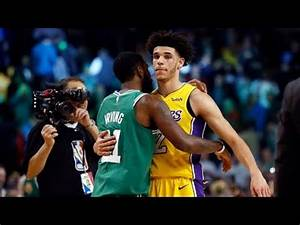 Kyrie Irving impressed by Lonzo Ball | ESPN - YouTube